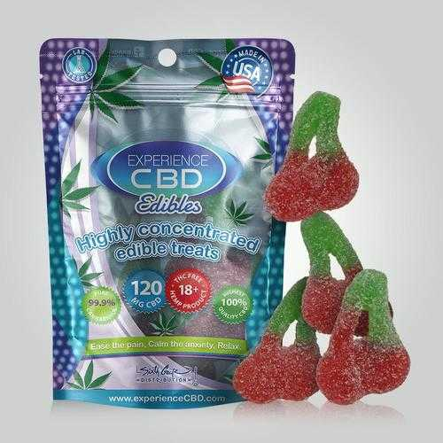 EXPERIENCE CBD 120MG CHERRY GUMMIES 4PC (NET)