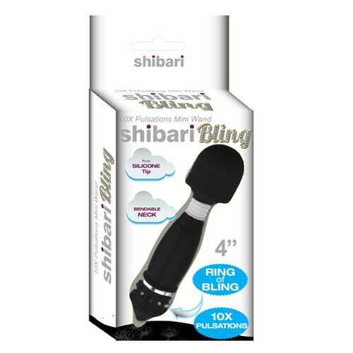 SHIBARI SEXY! BLING BLING MINI WAND BLACK