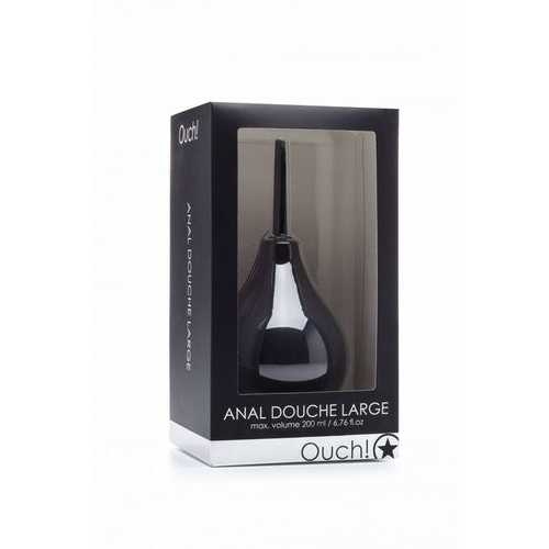 ANAL DOUCHE LARGE BLACK
