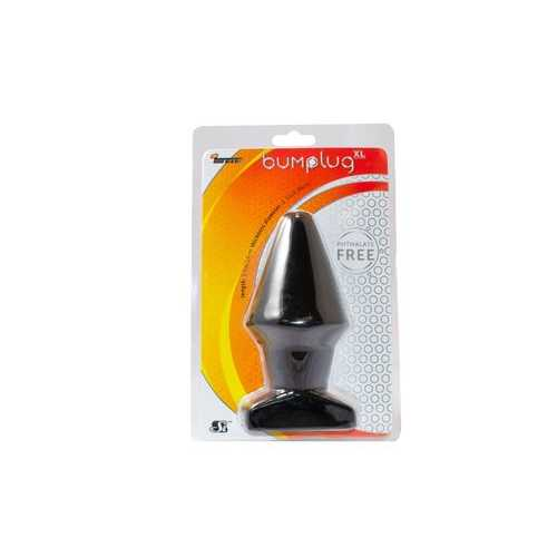 IGNITE BUTT PLUG BLACK EXTRA LARGE