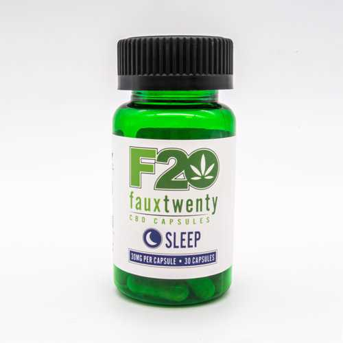 (WD) FAUX 20 SLEEP CBD 30MG PE CAPSULE 30CT BOTTLE