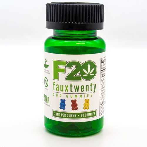 (WD) FAUX 20 CBD GUMMIES 20MG GUMMY 30 CT BOTTLE