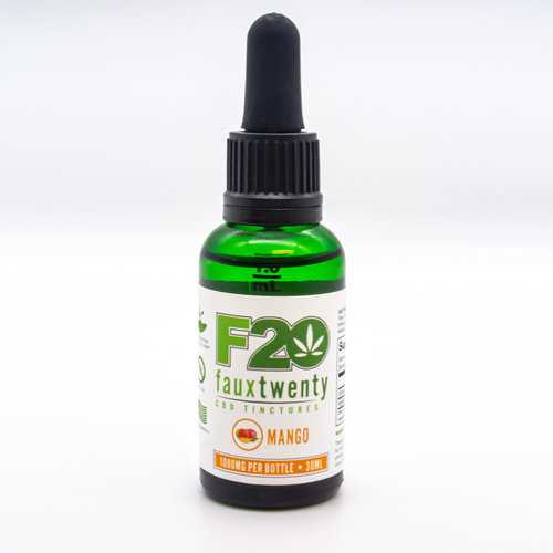 (WD) FAUX 20 MANGO CBD 1000MG TINCTURE 30 ML BOTTLE
