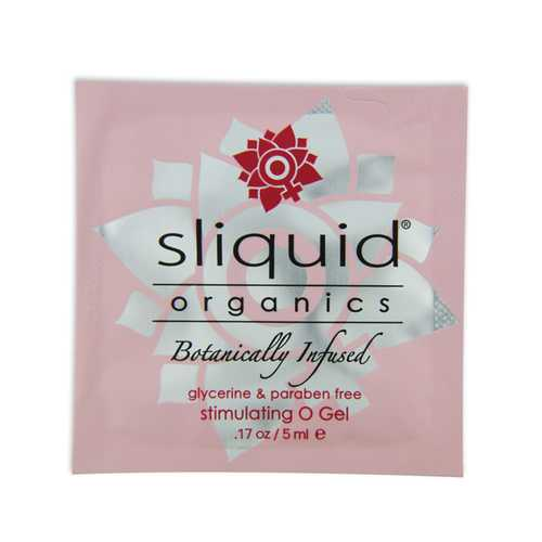 SLIQUID ORGANICS O GEL 200 PC PILLOW PACKS