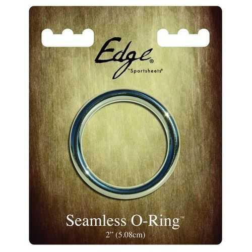 "EDGE SEAMLESS 2 O RING METAL """