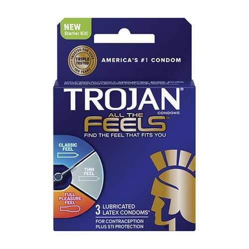 TROJAN ALL THE FEELS 3CT