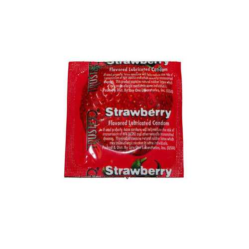 TRUSTEX CONDOMS-STRAWBERRY