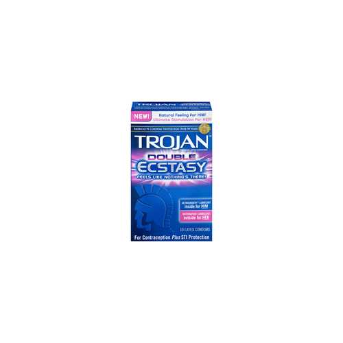 TROJAN DOUBLE ECSTASY 10 PACK