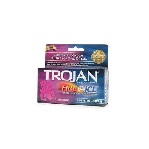 (D) TROJAN PLEASURES FIRE & IC PACK