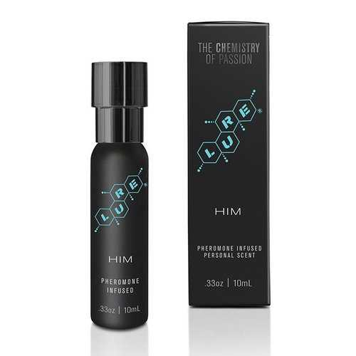 LURE BLACK LABEL FOR HIM PHEROMONE PERSONAL SCENT