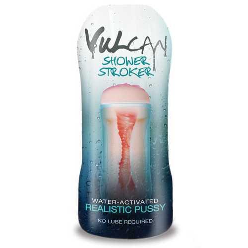 CYBERSKIN H2O VULCAN SHOWER STROKER REALISTIC