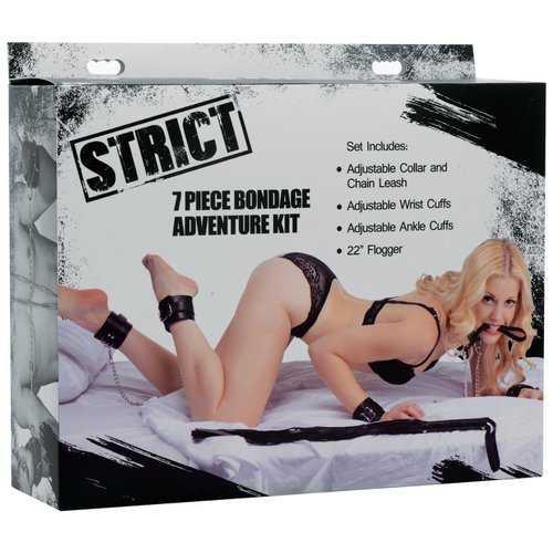 STRICT 7 PC BONDAGE ADVENTURE SET