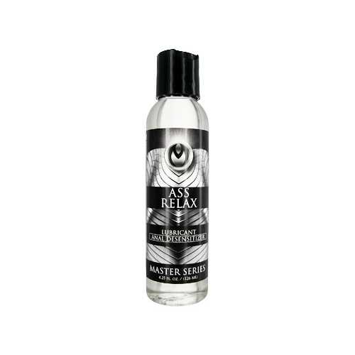 MASTER SERIES ANAL DESENSITIZING LUBE 4.25 OZ