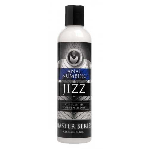 MASTER SERIES JIZZ ANAL DESENSITIZING LUBE 8 OZ