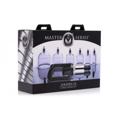 MASTER SERIES SUKSHEN 6 PC CUPPING SET (Out Mid Nov)