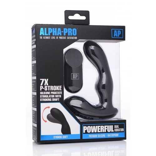 ALPHA-PRO 7X P-STROKE SILICONE PROSTATE STIMULATOR