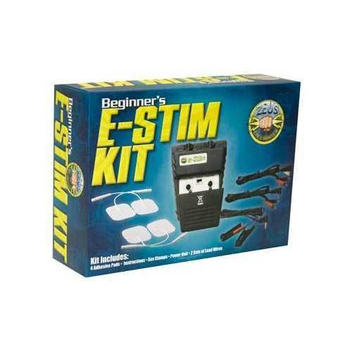 (WD) ZEUS ELECTROSEX POWERBOX BEGINNER E-STIM KIT