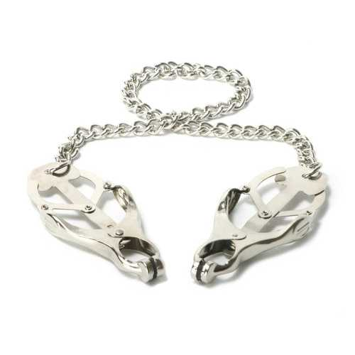 MASTER SERIES STERLING MONARCH NIPPLE CLAMPS
