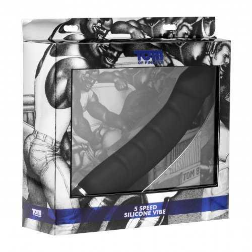 TOM OF FINLAND 5 SPEED SILICONE P-SPOT VIBE