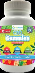 420 HEALTH CBD GUMMIES 30CT BOTTLE 600MG