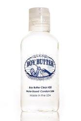 BOY BUTTER LUBRICANT CLEAR 4OZ BOTTLE