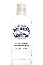 BOY BUTTER CLEAR 8 OZ BOTTLE