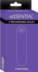 POWER BULLET ESSENTIAL 3.5IN RECHARGEABLE PURPLE