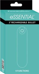 POWER BULLET ESSENTIAL 3.5IN RECHARGEABLE TEAL