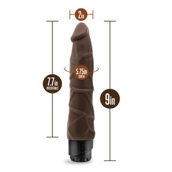 DR SKIN COCK VIBE #1 CHOCOLATE