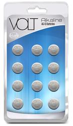 VOLT ALKALINE BATTERIES AG-13 CARDED 12 COUNT