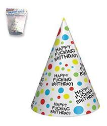 (WD) X-RATED BIRTHDAY HATS