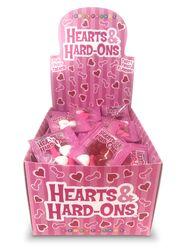 HEARTS & HARD-ONS 100 PC DISPLAY