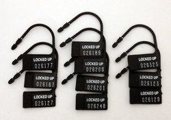 CHASTITY 10 PACK ONE TIME USE PLASTIC LOCKS