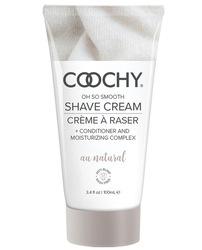 COOCHY SHAVE CREAM AU NATURAL 3.4 OZ