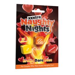 XXXTRA NAUGHTY NIGHTS DICE