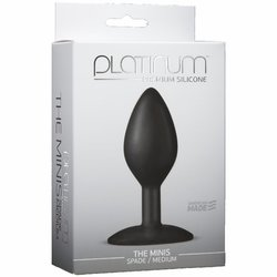 PLATINUM MINIS SPADE MEDIUM BLACK