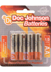 DOC JOHNSON BATTERIES AA 4 PACK CD