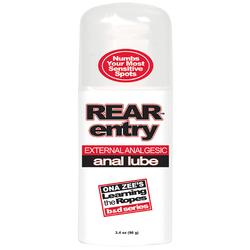 REAR ENTRY ANAL LUBE 3.4 OZ BU