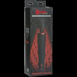 KINK POWER WAND W/ADAPTER BLACK