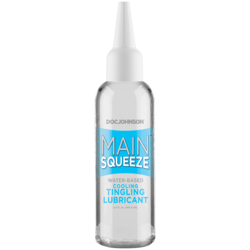 MAIN SQUEEZE COOLING TINGLING WATER BASED LUBRICANT 3.4 OZ