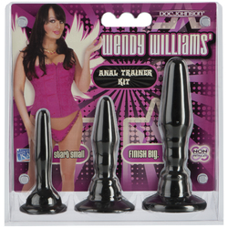 WENDY WILLIAMS ANAL TRAINER KIT CD