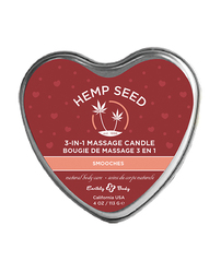 (D) CANDLE 3-IN-1 HEART SMOOC 4 OZ