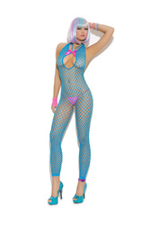 VIVACE BODYSTOCKING NEON BLUE O/S (Out Mid Jan)