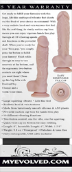 EVOLVED BIG SHOT RECHARGEABLE VIBRATING SQUIRTING DONG