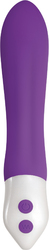 EVOLVED HEROINE SILICONE RECHARGEABLE PURPLE VIBRATOR