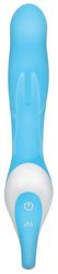 EVOLVED RAGING RABBIT RECHARGEABLE SILICONE SMALL BLUE