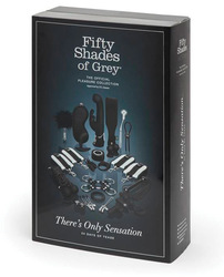 FIFTY SHADES THERES ONLY SENSATION 24 DAYS OF TEASE