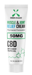50MG TRAVEL SIZE MUSCLE & JOINT CREAM (NET)