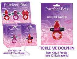 PURRFECT PET DOLPHIN PURPLE