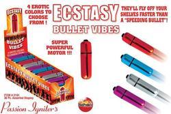 ECSTASY BULLET VIBES 36PC DISPLAY